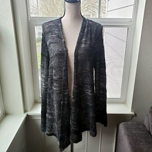 Eileen Fisher Open Front Mohair Cardigan   L